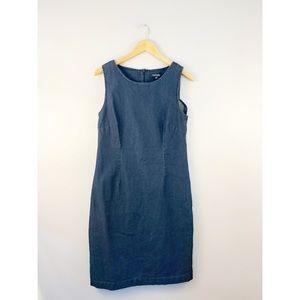 Chadwicks Denim Sleeveless Shift Dress